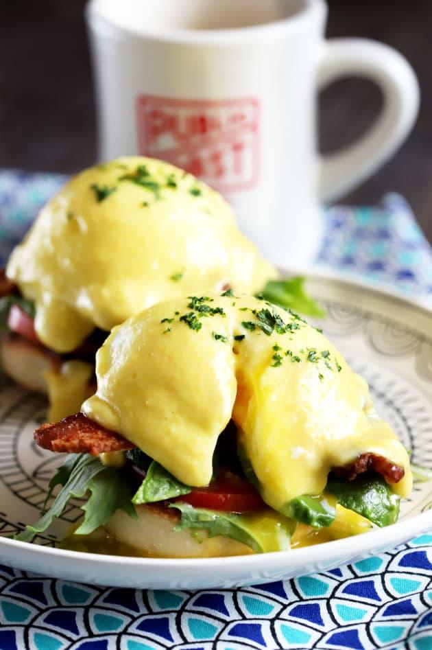 BLAT Eggs Benedict Pic