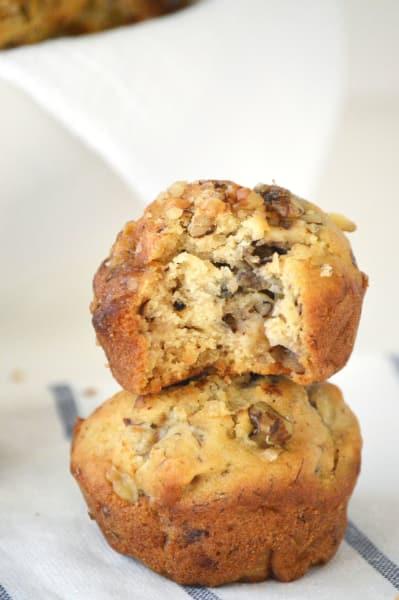 Gluten Free Banana Nut Muffins Image