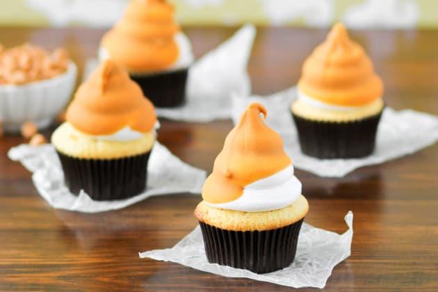 Butterscotch Dip Cupcakes Photo