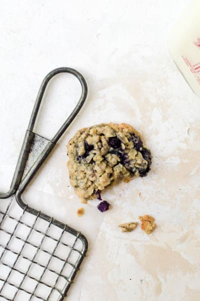 Blueberry Oatmeal Cookies Pic