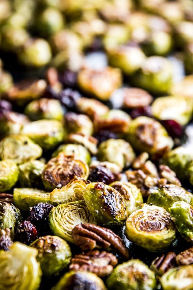 Cranberry Pecan Roasted Brussels Sprouts Picture