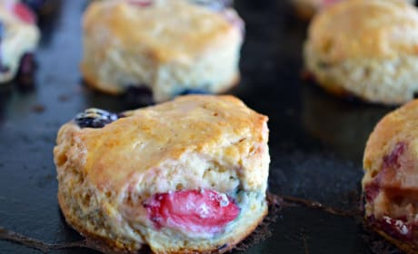 Mixed Berry Biscuits Image