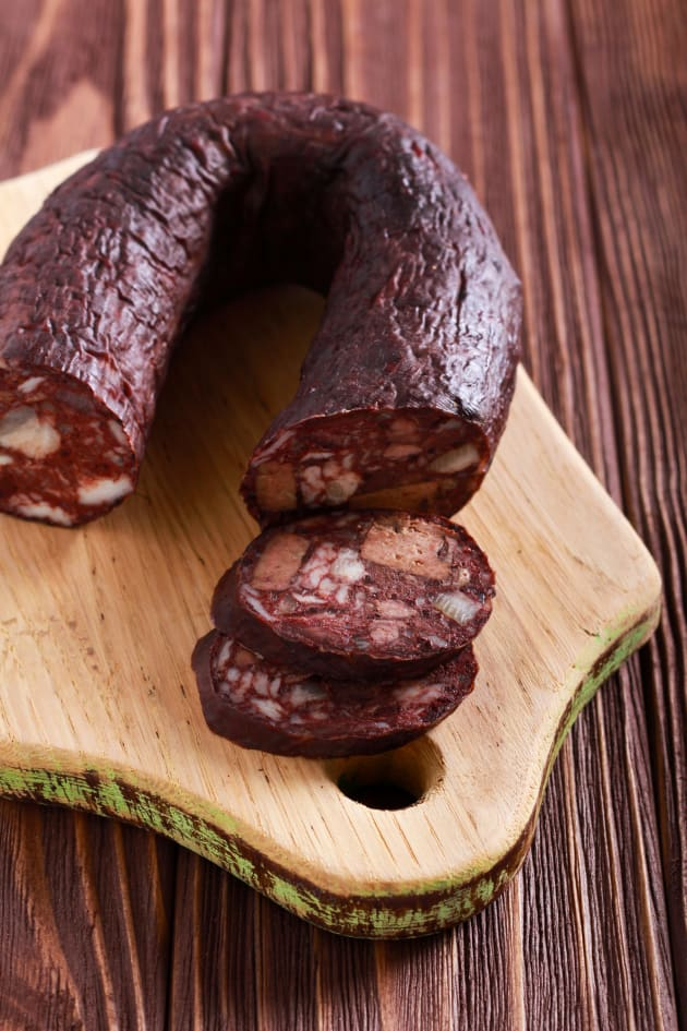 Blood sausage picture