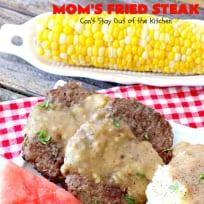 Mom's Fried Steak