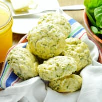 Spinach Feta Scones Recipe