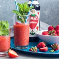 Strawberry Pimm's Slush Recipe