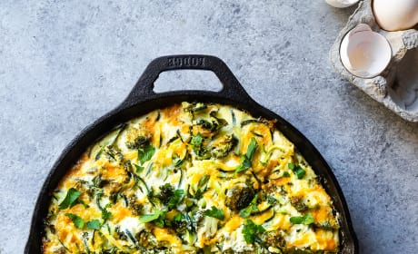 Broccoli Cheddar Zoodle Bake Pic