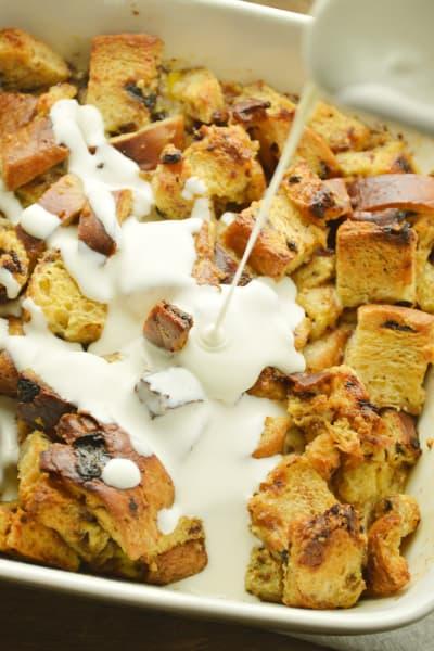 Cinnamon Raisin Bread Pudding Image