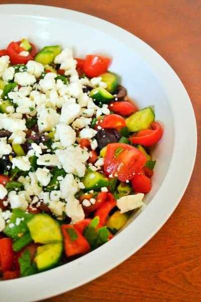 Shopska Salad Picture