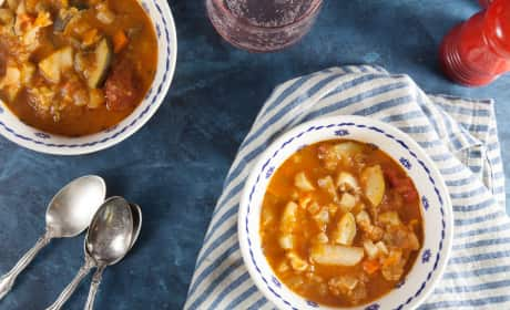 Roast Vegetable Soup Recipe