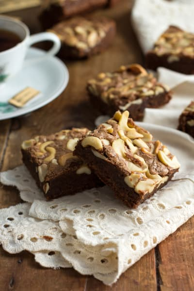 Brown Butter Brownies with Chai Picture