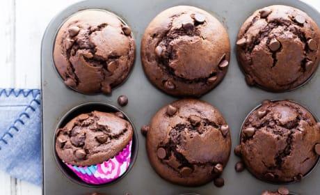 Chocolate Banana Muffins Image