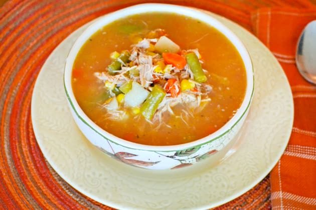 Turkey Vegetable Soup Image