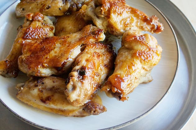 Garlic Ginger Chicken Wings Photo