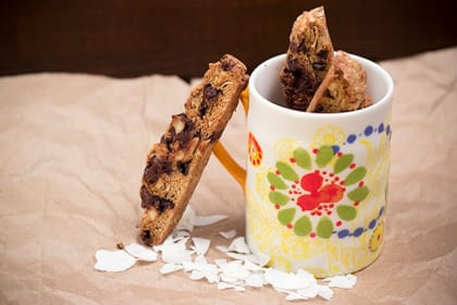 Coconut Almond Biscotti: A Healthy, Chewy Dessert