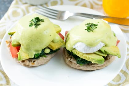 California-Style Eggs Benedict