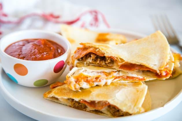 Pizza Quesadilla Photo