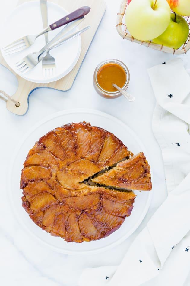 Gluten Free Apple Upside-Down Cake Picture