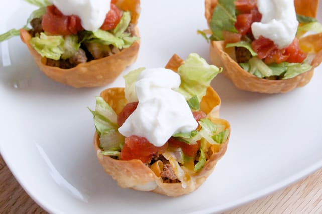 Taco Salad Cups Recipe