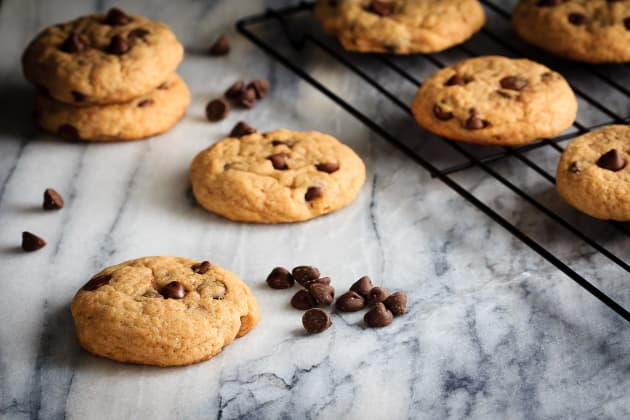 Chewy Chocolate Chip Banana Cookies Photo