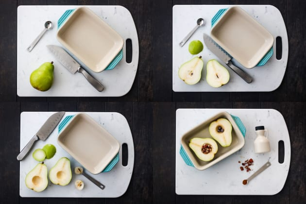 Toaster Oven Baked Pears Picture