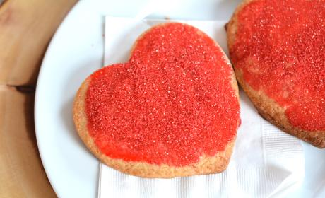Homemade Panera Bread Valentine Cookies