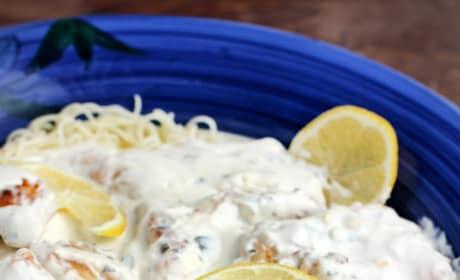 Creamy Lemon Chicken Pasta Picture