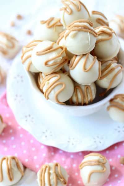 White Chocolate Buckeyes Image