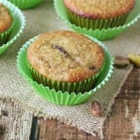 Gluten Free Pistachio Plum Muffakes Recipe