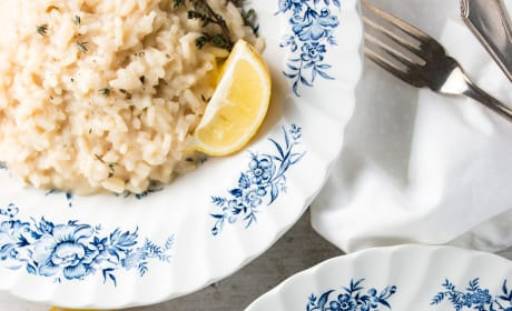 Lemon Thyme Risotto Picture