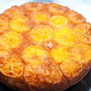 Tangelo cake photo