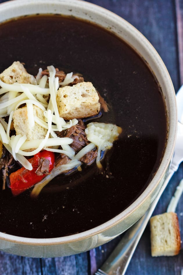 Philly Cheese Steak Soup Image