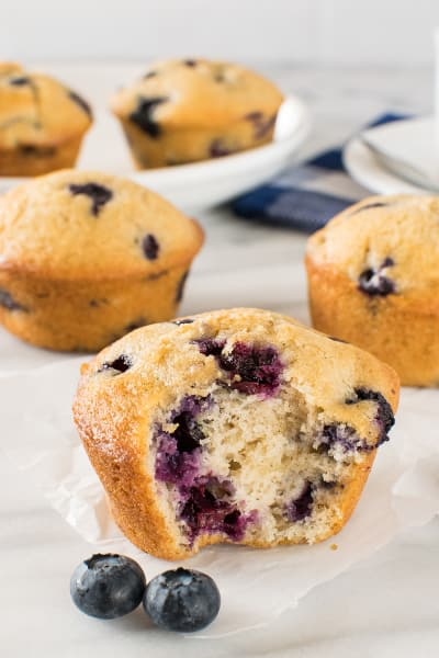 Blueberry Chai Muffins Picture