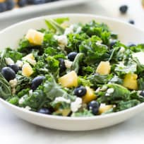 Kale Blueberry Pineapple Salad Recipe