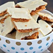 Peanut Butter Cracker Toffee Recipe