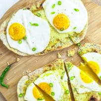 Indian Egg Flatbreads