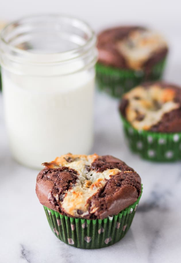 Cream Cheese Brownie Cupcakes Picture