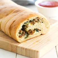 Stuffed Spinach Bread Recipe