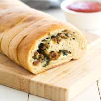Stuffed Spinach Bread Recipe