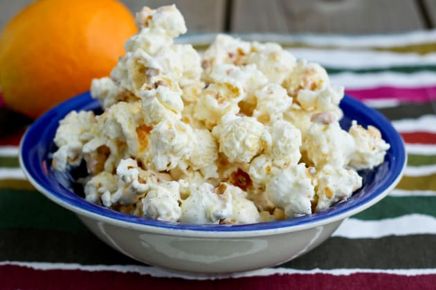 Orange Creamsicle Popcorn Photo