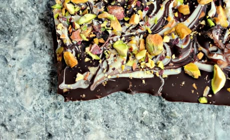 Marble Bark with Pistachios Recipe