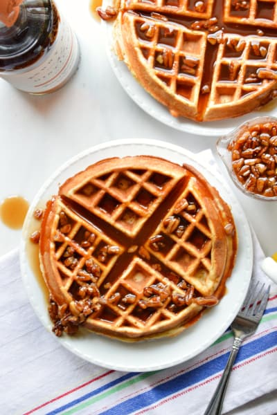 Banana Waffles Image