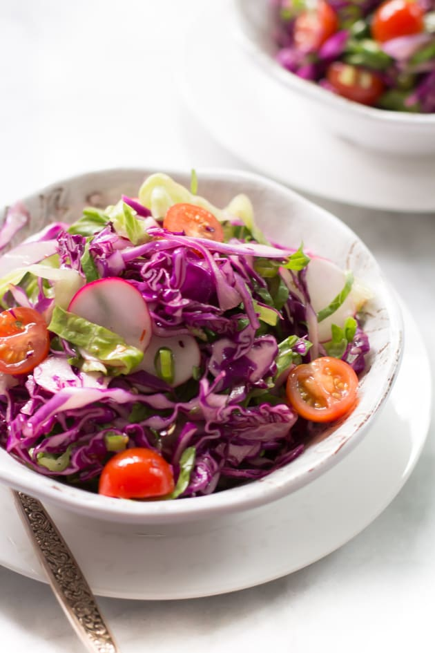 Quick Easy Red Cabbage Salad Food Fanatic