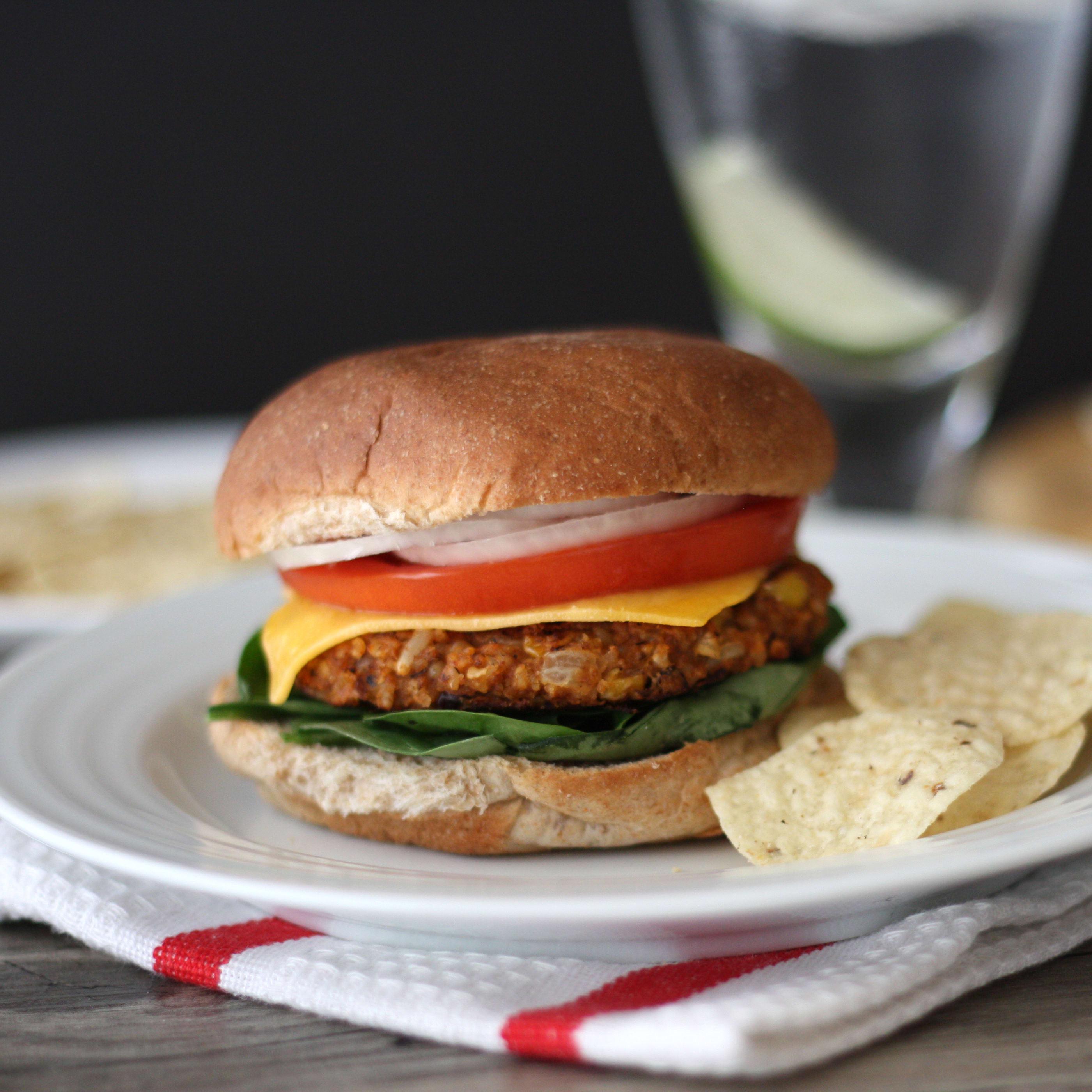 Spicy Black Bean Burger Recipe Food Fanatic