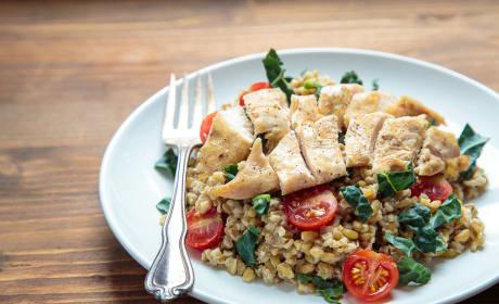 Freekeh Salad with Chicken Recipe
