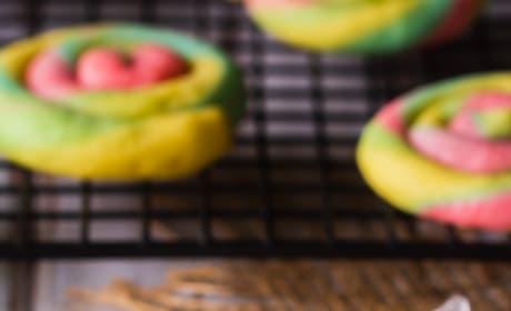 Rainbow Cream Cheese Cookies Image
