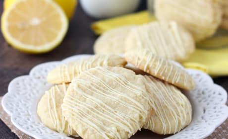 Lemon Cake Mix Cookies Recipe