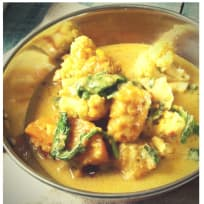 Vegan Butternut Squash and Spinach Korma with Quorn