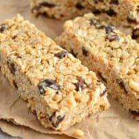 Oatmeal Raisin Cookie Granola Bars Recipe