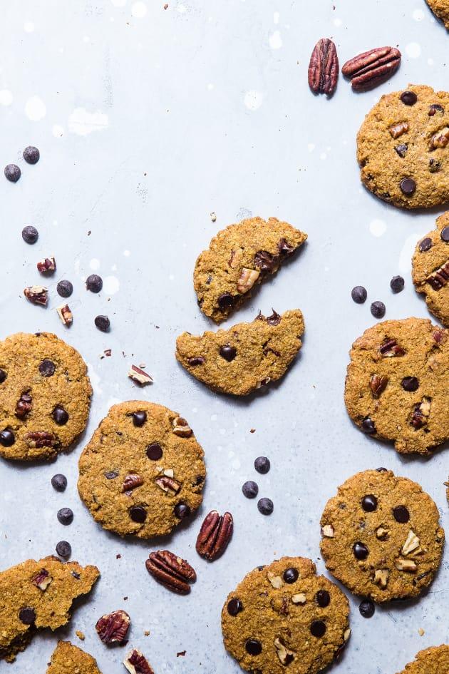 Keto Pumpkin Chocolate Chip Cookies Image